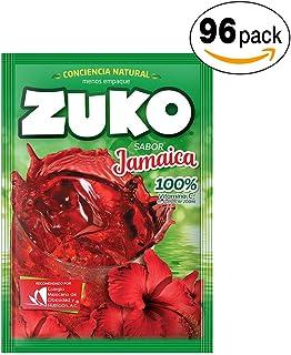 Zuko Polvo para Preparar Bebida, Jamaica, 1440 g, Caja 96 Sobres