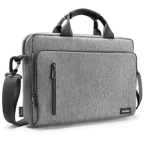 tomtoc 13.5 Inch Laptop Shoulder Bag for 13-inch MacBook Pro, MacBook Air, Surface Book, Surface Laptop, Multi-Functional Laptop Messenger Bag for Surface Pro, Dell XPS 13
