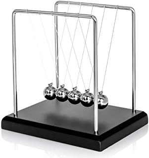Pendulum of Newton balls balanced 20 cm