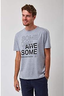 Camiseta Someone - Azul