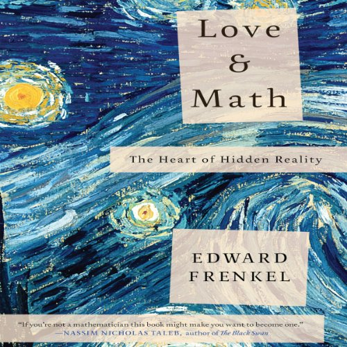 Love and Math audiobook cover art
