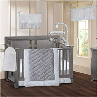BabyFad Princess 9 Piece Baby Crib Bedding Set