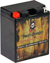 Pirate Battery YB14A-A2 High Performance Power Sports Battery - AGM - Replacement for CTX14AH-BS, CC14A-A2