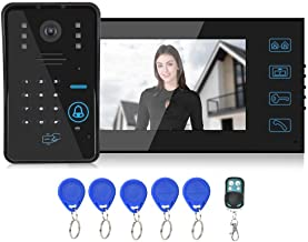 𝐍𝐞𝒘 𝐘𝐞𝐚𝐫𝐬 𝐆𝐢𝐟𝐭𝐬Wired Video Doorphone, Intelligent Doorbell Door Phone System, 1/3In Hd 1000Tvl Multi‑Function...
