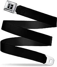 Buckle-Down Belt Seatbelt Buckle Ford Mustang Logo Black Mens Womens Kids Adjustable