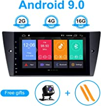 TOOPAI for BMW E90 E91 E92 E93 Android 9.0 Car Radio Stereo GPS Navigation with 9 inch HD Screen Support Screen Mirror 4G WiFi OBD2 Steering Wheel Control Rear Camera
