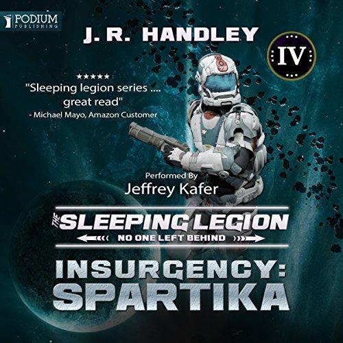 Insurgency: Spartika audiobook cover art