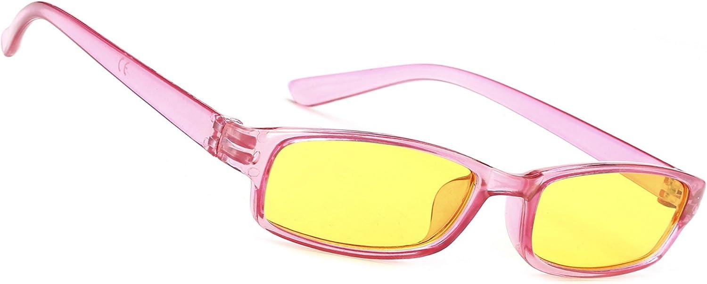 MFAZ Morefaz Ltd Herren Damen Slim Nachtfahrbrillen zum Autofahren F/ür Schlechtes Wetter Nacht Brille