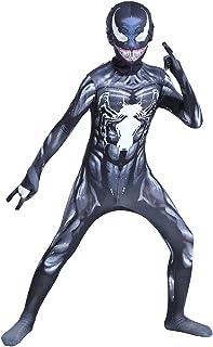 JianYia Kids Bodysuit Superhero Costumes Lycra Spandex Halloween Cosplay Costumes