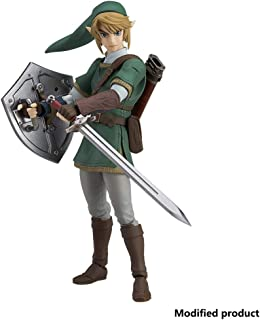 Siyushop The Legend of Zelda Twilight Princess Link (Deluxe Version) Action Figure - Including Multiple Expressions - High 5.9 Inches