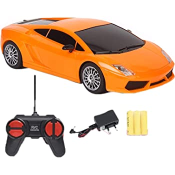 Toyify Full Function Remote Control Car with Rechargeable Batteries for Car with Direct Charging Point Need Not to Remove Back Port (Plug & Play) | Good Birthday Presents [ Color & Model May Vary ]