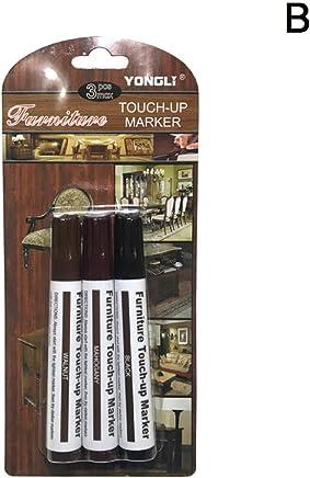 /útiles bol/ígrafos de retoque de madera para uso en muebles de madera en el hogar o la oficina A sistema de reparaci/ón de muebles multiusos Rotuladores para muebles JJ.Accessory