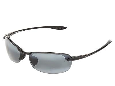 Maui Jim Makaha Readers (Gloss Black/Neutral Grey Lens/1.5 Lens) Reading Glasses Sunglasses