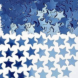 Amscan Mini Stars Confetti 1/4 oz. Blue 369146.01