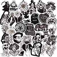 Gothic Stickers:50 different Gothic Stickers, have a variety of unique designs. High Quality:Each sticker is between 2 and 4 inches. Best Gift:Our assortment of the graffiti decals is your right choice when choosing a gift for your friends, kids. The...