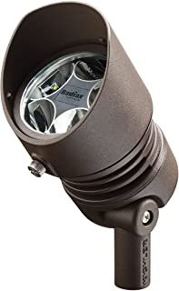 Kichler 16011AZT27 12V LED 13W 60-Degree Flood 2700K, Textured Architectural Bronze