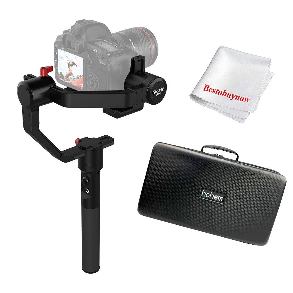 Hohem iSteady Gear - Gimbal estabilizador de 3 ejes para cámaras ...