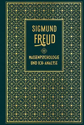 Massenpsychologie und Ich-Analyse: Leinen mit Goldprägung