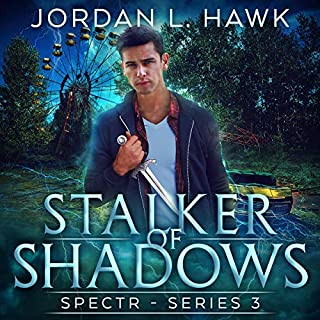 Stalker of Shadows audiobook cover art