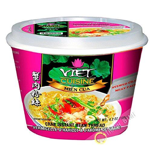 Suppe, Nudel-krabben-Schüssel VIET-KÜCHE VIFON Vietnam 120g - Pack 12 pcs