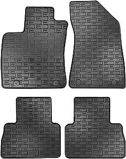 Uppsättning gummimattor kompatibla med MG ZS (EV) 2019–(4 delar monteringssystem)