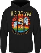 U.s. Tour 1975 Rock Led Zeppelin Men Hoodies Sweatshirts Pullover Cool Hoodies