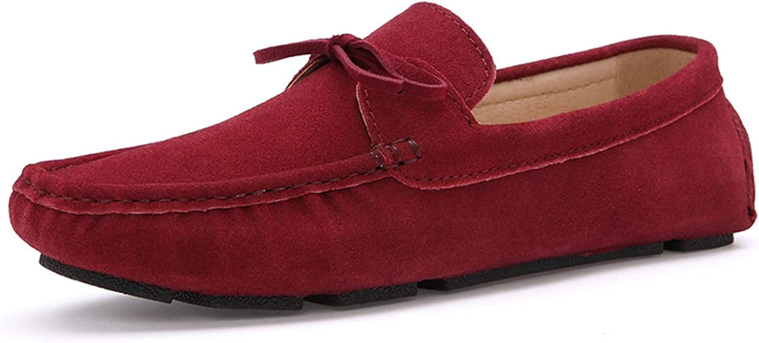Autumn Women Loafers Moccasin Homme Casual Suede Leather shoes Moccasins Slip On Woman shoes