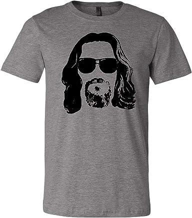 59134b25e0745d LivingTees The Dude Shades Unisex T Shirt    The Big Lebowski Loves It!