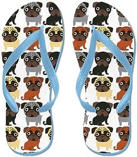 Just Pugs! Beach Sandals