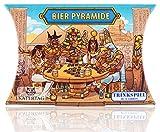 Katertag Bier Pyramide - Das Legendäre Trinkspiel - lustiges Partyspiel für Erwachsene -...