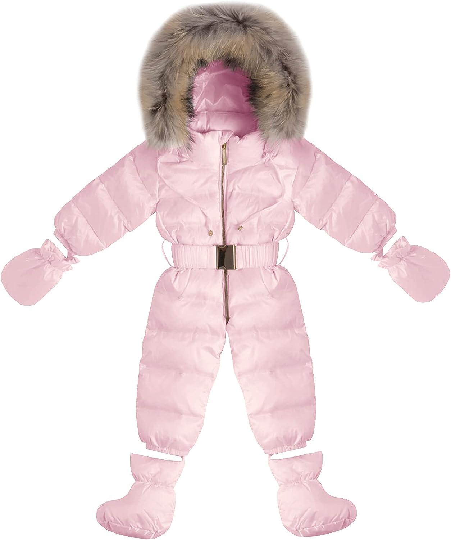 Max 59% OFF Toddler Ranking TOP14 Boy Girls Zipper Snowsuit Hoodied Winte Coat Comfortable