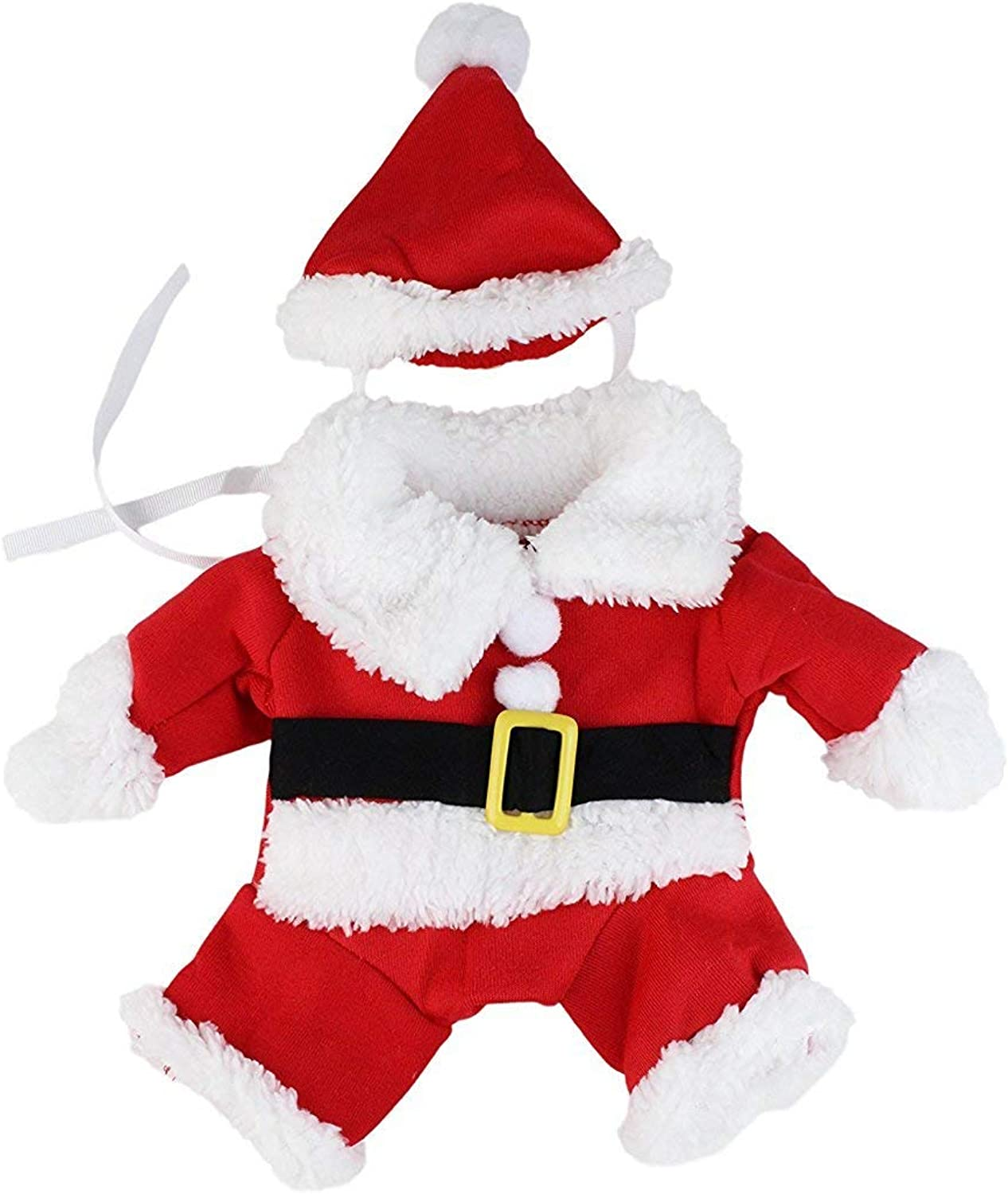 Fake Arms Small Dog Santa Christmas Costume by Midlee (Small Dog Large)