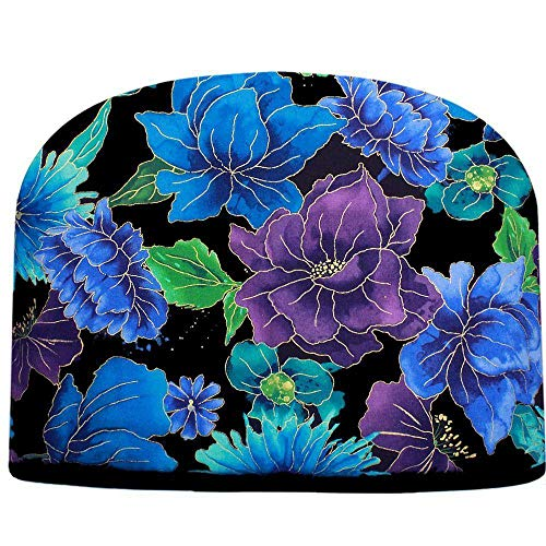 Blue Moon Tea Cozy Crystal Blue & Purple Persuasion Tea Cozy Double Insulated Teapot Cozy Keeps Tea Cosie - Ships The Same Business Day, Order by 10 AM Pacific Time