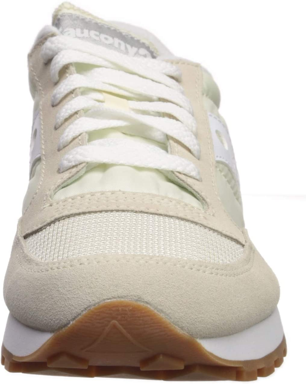Saucony Dames Jazz Originele Vitnage Low-Top Sneakers White Blanco 93