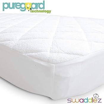 Pack n Play Mattress Pad | Mini Crib Waterproof Protector | Padded Cover for Graco Playard Matress | Fits All Baby Po...