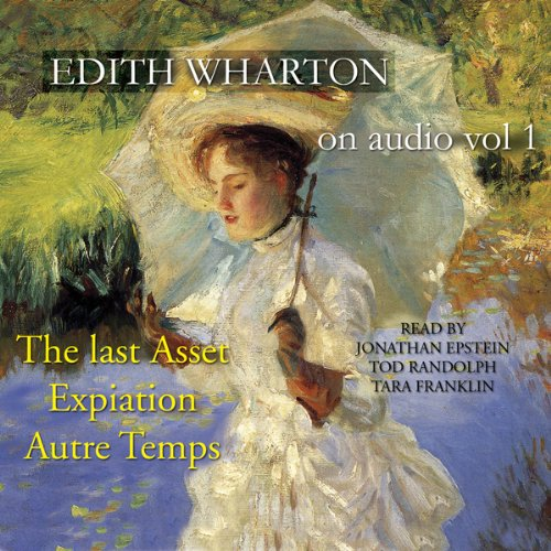 Edith Wharton on Audio, Vol. 1 audiobook cover art
