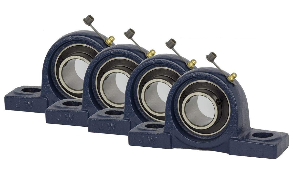 Jeremywell 4 Pieces- Rapid rise UCP206-20 1-1 Pillow Ranking TOP8 Bearing Block inch