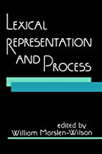 Lexical Representation and Process (MIT Press)