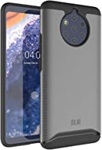 Nokia 9 Pureview Case, TUDIA Slim-Fit HEAVY DUTY [MERGE] EXTREME Protection/Rugged but Slim Dual Layer Case for Nokia 9 Pureview (Metallic Slate)
