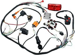 complete electrics 4 stroke atv quad 150 200 250 300cc wiring harness cdi 8  coil stator