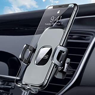 TORRAS Air Vent Cell Phone Holder for Car [Military Grade], Car Phone Mount Vent [2020 Enhanced Clip] Compatible with iPhone 11 Pro Max X XS XR 8 7 SE, Samsung Galaxy S20+Ultra/Note 10 Plus S9 &All