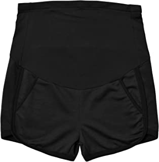 Maternity Shorts Summer Workout Loose Fit Stretchy Full Panel Short Pants