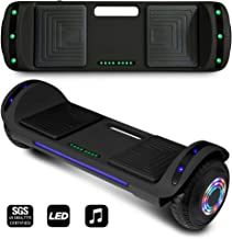 CHO POWER SPORTS 2020 Generation Electric Hoverboard UL Certified Hover Board Electric Scooter with Built in Speaker Smart Self Balancing Wheels