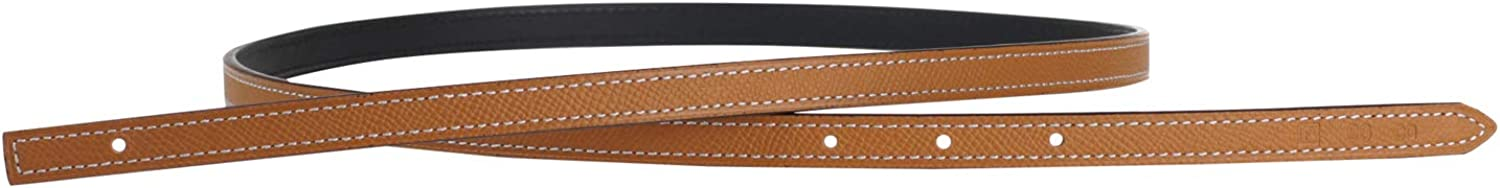 Replacement New item Belt Strap Reversible Double Genuine B Sided Max 80% OFF Leather