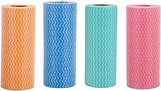 SAPU 4Pcs Reusable Towels for Kitchen – Mutlipurpose Nonwoven Towels – Reusable Towels Washable- Disposable Dish Cloth (1 ...