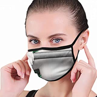 Dust Mask Pug Dog Personal Trainer Lifting Very Funny Sports Recreation Anti Pollution Breathable Respirator Mask Grade Flu Mask Carbon Activated Filtration - Reusable Washable - Comfy Polyester Adjus