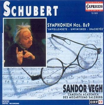 Schubert, F.: Symphonies Nos. 8 and 9