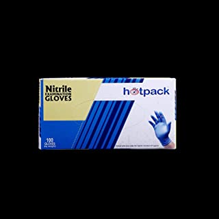 Hotpack Nitrile Powdered Free Medium 100s