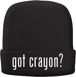 BH Cool Designs got Crayon? - Adult Comfortable Fleece Lined Beanie