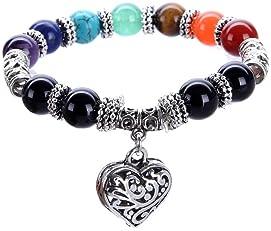 Reiki jewelry  Chakra bracelet  Dharma gift  reiki charm bracelet  Reiki in  Reiki pendant  Meditation gift  Reiki charm  new age